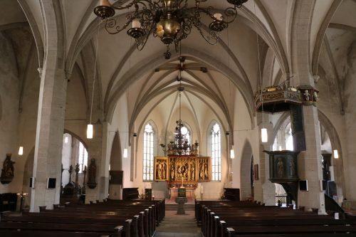 eisleben kerk interieur