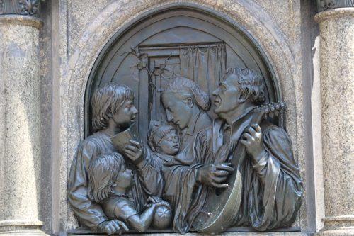 eisleben luther monument